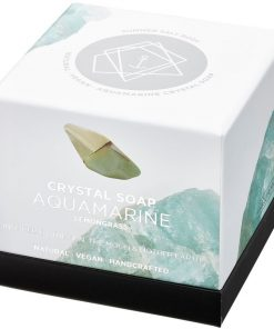 Aquamarine Crystal Soap new style box
