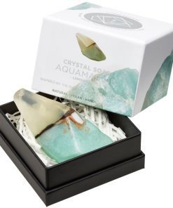 Aquamarine Crystal Soap in box new style box