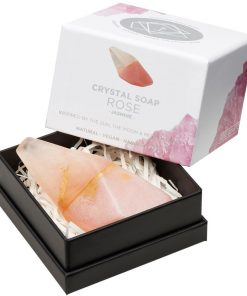 Rose Quartz Crystal Soap in box new style box