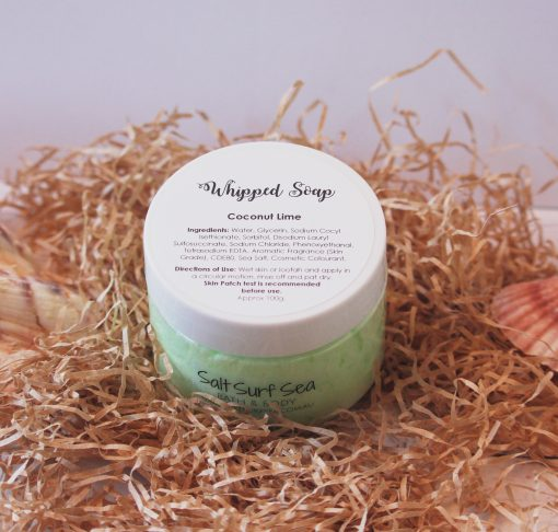 Whipped Soap Coconut Lime 100g