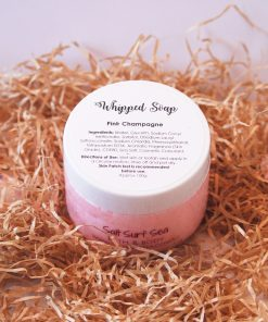 Whipped Soap Pink Champagne 100g