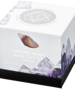 Amethyst Crystal Soap new style box
