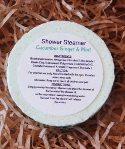 Shower Steamer Cucumber Ginger & Mint