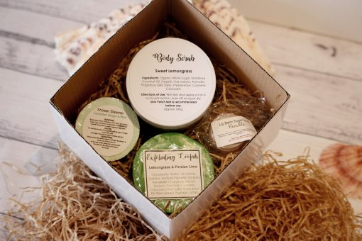 Bath & Body Gift Pack $25 with Sweet Lemongrass Body Scrub