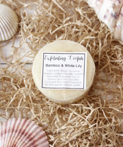 Bamboo & White Lily Exfoliating Loofah Soap