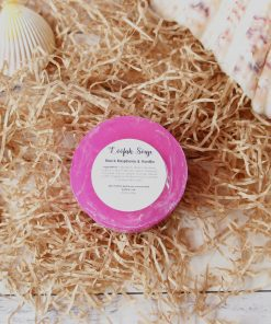 Black Raspberry & Vanilla Exfoliating Loofah Soap