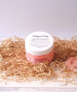 Whipped Soap Champagne & Strawberries 100g