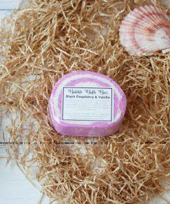 Bubble Bath Bar Black Raspberry & Vanilla