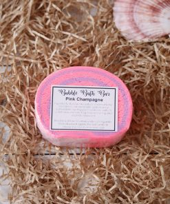 Bubble Bath Bar Pink Champagne