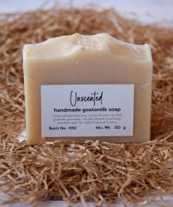 Handmade Goatsmilk Soap Unscented