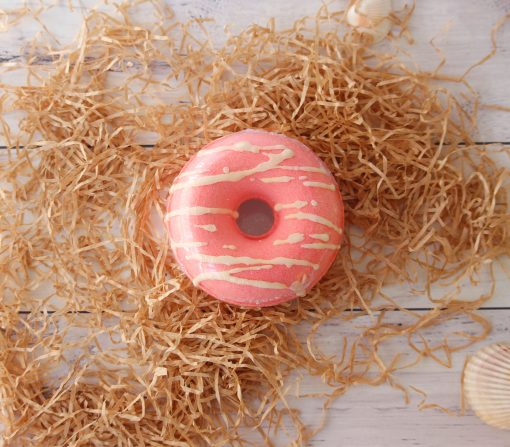 Bath Bomb Donut Berry Luscious
