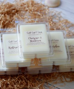 6 Pack Clamshell Soy Wax Melts All Fragrances Listed Together