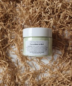 Foaming Face Scrub Cucumber & Mint 50g