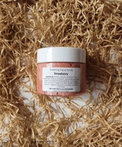 Foaming Face Scrub Strawberry 50g