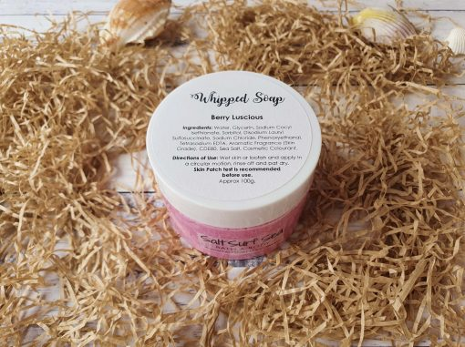 Whipped Soap Berry Luscious 100g