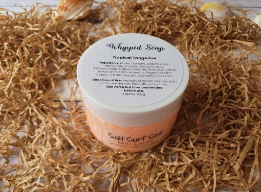 Whipped Soap Tropical Tangerine 100g