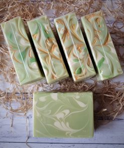 Lemongrass & Spearmint Handmade Goats Milk Soap
