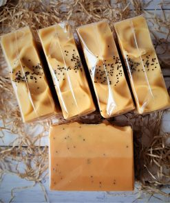 Orange & Poppy Seed Handmade Soap