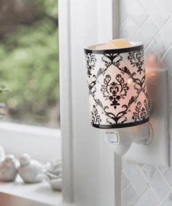 Damask Porcelain Pluggable Fragrance Warmer