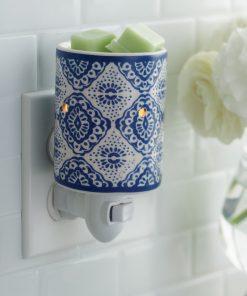 Indigo Porcelain Pluggable Fragrance Warmer